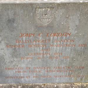 Inscription on the Bandon monument